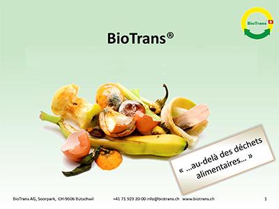 BioTrans – Recylage des déchets